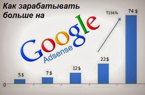 как зарабатывать больше наgoogle adsense