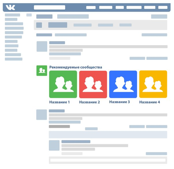 Реклама от вконтакте