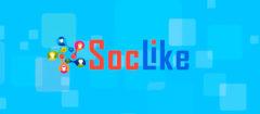 SocLike — сервис по продвижению в социальных сетях